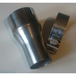 Adapter for use with Trackslag downpipe to S3 (8p) OEM Exhaust