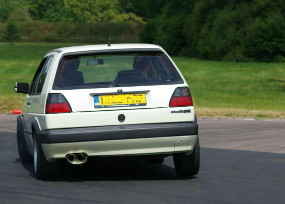 "Mk2 Golf 2.5"" exhausts"