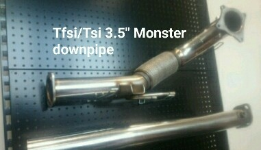 Tfsi/Tsi Monster downpipe